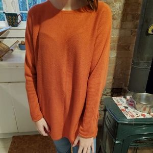 Michael Kors Orange Spice Crew Sweater